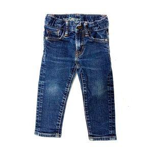 Baby gap adjustable waist skinny jeans